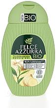 """Parfumuri și produse cosmetice Gel de duș """"Ceai verde și Ghimbir"""" - Felce Azzurra BIO Creen Tea&Ginger Shower Gel"""