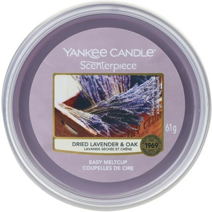 Ceară aromată - Yankee Candle Dried Lavender & Oak Scenterpiece Melt Cup — Imagine N1