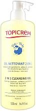 Parfumuri și produse cosmetice Gel de curățare 2 în 1 pentru corp - Topicrem Soins Bebe Bio Gel Nettoyant