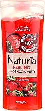 """Parfumuri și produse cosmetice Peeling fin pentru duș """"Căpșună"""" - Joanna Naturia Peeling"""