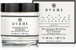Parfumuri și produse cosmetice Cremă hidratantă revitalizantă - Avant Rose & Squalane Revitalising DUO Moisturiser