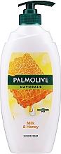 Parfumuri și produse cosmetice Gel de duș - Palmolive Naturals Milk Honey Shower Gel (cu pompă)