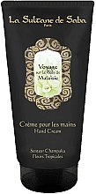 Parfumuri și produse cosmetice La Sultane de Saba Malaisie Champaka Fleurs Tropicales - Cremă de mâini