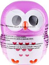 """Parfumuri și produse cosmetice Balsam de buze """"Bufniță"""", violetă - Martinelia Owl Lip Balm"""