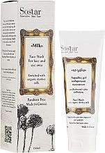 Parfumuri și produse cosmetice Spumă de curățare - Sostar Face Wash with Donkey Milk