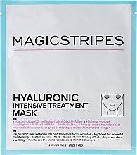 Parfumuri și produse cosmetice Mască intens hidratantă cu acid hialuronic - Magicstripes Hyaluronic Intensive Treatment Mask