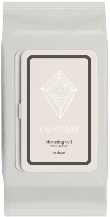 Șervețele demachiante - Cremorlab T.E.N. Cremor Cleansing Veil — Imagine N1