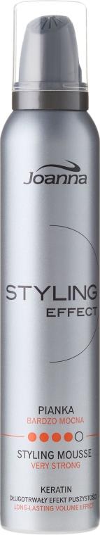 Spumă de păr, cu fixare puternică - Joanna Styling Effect Styling Mousse Strong