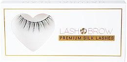 Parfumuri și produse cosmetice Gene false - Lash Brow Premium Silk Lashes Natural Glam