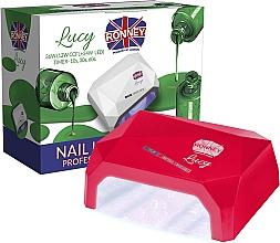 Parfumuri și produse cosmetice Lampă CCFL+LED, roșie - Ronney Professional Lucy CCFL + LED 38W (GY-LCL-021) Lamp