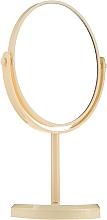 Parfumuri și produse cosmetice Oglindă cu suport 85710, galbenă - Top Choice Beauty Collection Mirror