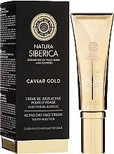 """Cremă de zi """"Tinerețe"""" - Natura Siberica Caviar Gold — Imagine N1"""