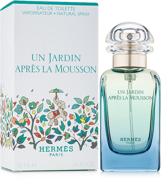 Hermes Un Jardin Apres la Mousson - Apă de toaletă — Imagine N2