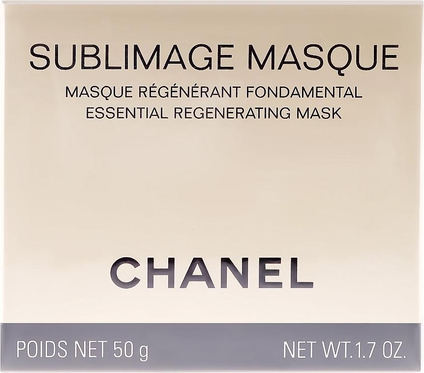 Mască de regenerare pentru față - Chanel Sublimage Masque — Imagine N1