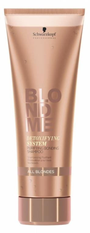 Șampon - Schwarzkopf BlondMe Detoxifying System Purifying Bonding Shampoo