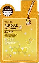 Parfumuri și produse cosmetice Mască din țesut cu vitamine - Seantree Mask Sheet Multi Vita Ampoule