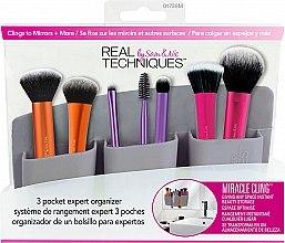 Parfumuri și produse cosmetice Organizator pentru pensule de machiaj, gri - Real Techniques 3 Pocket Expert Organizer Grey