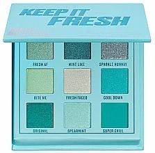 Parfumuri și produse cosmetice Paletă farduri de ochi - Makeup Obsession Keep It Fresh Shadow Palette