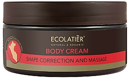 Parfumuri și produse cosmetice Cremă de modelare pentru corp - Ecolatier