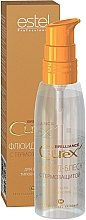 Parfumuri și produse cosmetice Fluid- luciu termo protector pentru toate tipurile de păr - Estel Professional Curex Brilliance Fluid