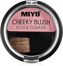 Parfumuri și produse cosmetice Fard de față - Miyo Cheeky Blush Rouge Powder