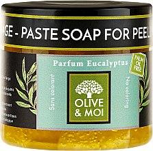 Parfumuri și produse cosmetice Săpun negru cu miros de eucalipt - Saryane Olive & Moi Savon Noir