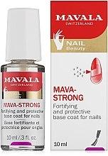 Parfumuri și produse cosmetice Top Coat transparent pentru unghii - Mavala Colorfix Strong Flexible Top Coat