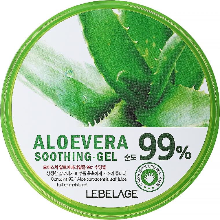 Gel hidratant cu aloe - Lebelage Moisture Aloe Vera 99% Soothing Gel
