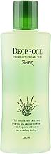 Parfumuri și produse cosmetice Toner hidratant antirid cu aloe vera, acid hialuronic și extracte din plante - Deoproce Hydro Soothing Aloe Vera Toner