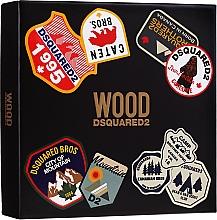 Parfumuri și produse cosmetice Dsquared2 Wood Pour Homme - Set (edt/100ml + sh/gel/150ml)
