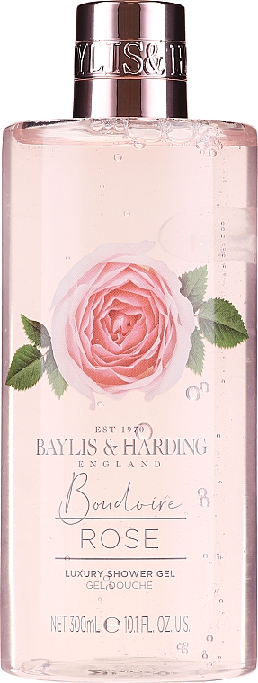 Set - Baylis & Harding Boudoire Rose (sh/gel/300ml + b/lot/200ml + bath/bomb/2x75g) — Imagine N2