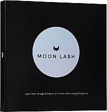 Set - Moon Lash Kit Magnetic 005 New Moon (eyelashes/1pcs + clip + eye/liner/5ml) — Imagine N1