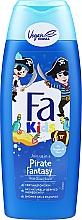 Parfumuri și produse cosmetice Gel de duș pentru băieți - Fa Kids Pirate Fantasy