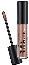 Parfumuri și produse cosmetice Ruj de buze - Flormar Metallic Lip Charmer Glaze