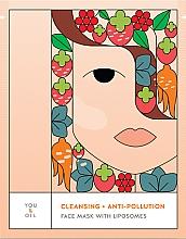 Parfumuri și produse cosmetice Mască de față - You & Oil Cleansing & Anti-Pollution Face Mask With Liposomes