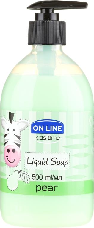 "Săpun lichid ""Pere"" - On Line Kids Time Liquid Soap Pear"