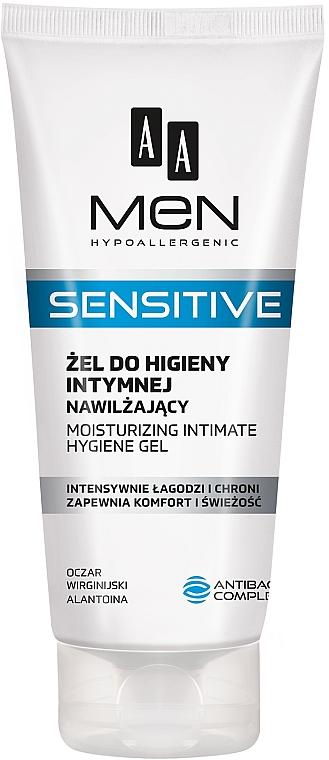 Gel hidratant pentru zona intimă - AA Men Sensitive Moisturizing Gel For Intimate Hygiene