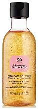 Parfumuri și produse cosmetice Gel-toner pentru tenul deshidratat - The Body Shop British Rose Petal-Soft Gel Toner