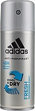 Parfumuri și produse cosmetice Deodorant - Adidas Anti-Perspirant Fresh Cool & Dry 48H