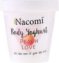 """Parfumuri și produse cosmetice Iaurt pentru corp """"Piersic"""" - Nacomi Body Jogurt Peach Love"""