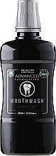 """Parfumuri și produse cosmetice Agent de clătire pentru cavitatea bucală """"Cărbune de lemn"""" - Beauty Formulas Advanced Charcoal Mouthwash"""