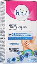 Parfumuri și produse cosmetice Benzi de ceară pentru axile - Veet Easy-Gel