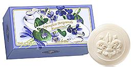 """Parfumuri și produse cosmetice Set săpunuri de toaletă """"Violete"""" - Saponificio Artigianale Fiorentino Violet (Soap/6x50g)"""