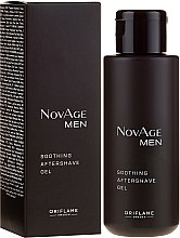 Parfumuri și produse cosmetice Gel după ras - Oriflame NovAge Men Soothing Aftershave Gel