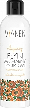 Parfumuri și produse cosmetice Apă micelară și tonic 2 în 1 - Vianek Micellar Face Water
