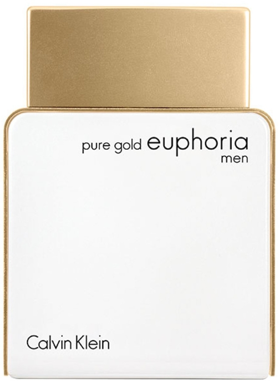 Calvin Klein Pure Gold Euphoria Men - Apă de parfum — Imagine N1