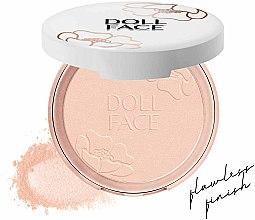 Pudră matifiantă pentru față - Doll Face Blot & Blur Mattifying Powder — Imagine N2