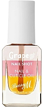 Parfumuri și produse cosmetice Ulei de struguri pentru cuticule - Barry M Nail Shot Grape