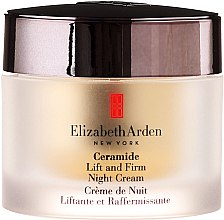 Cremă de noapte pentru față și gât - Elizabeth Arden Ceramide Plump Perfect Ultra All Night Repair and Moisture Cream for Face and Throat — Imagine N2