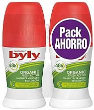 Parfumuri și produse cosmetice Set - Byly Organic Extra Fresh (deo/2x50ml)